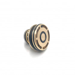 Brass piston head