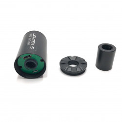 Tracer silencer for glow in the dark gel