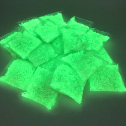15 pack of 3000 pieces 7mm to 8mm glow in the dark gel